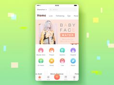Beauty+ | Home page | Pull down to refresh by Rena Xiao