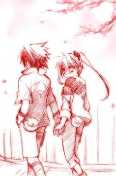 Porque Sasuke Uchiha e Naruko Uzumaki estariam apaixonados antes mesmo deles serem colocados no time 7