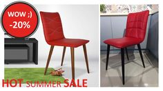 ⚡ HOT SUMMER #SALE ⚡ #Scaune #promo -20%. Pret nou 299 lei #redus de la 375 lei. Testează în #Marasti sau #Manastur - #ClujNapoca. Urmărește BULINA ROȘIE #🔴 Livrare în 48 ore 😍👀  📞 0748048048 📩 contact@gobilier.ro Lei, Summer Sale, Furniture Decor, Chair, Home Decor, Decoration Home, Room Decor, Stool, Home Interior Design