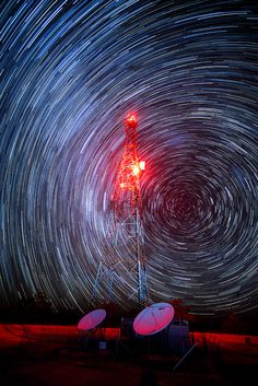 Star Trails in the Australia outback