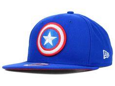 Marvel Captain America Practice Original Fit 9FIFTY Snapback Cap Hats