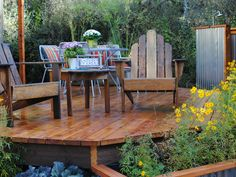Pictures of beautiful backyard decks, patios and fire pits | DIY Deck Building & Patio Design Ideas | DIY