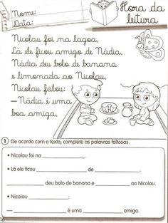 Escola Pastor Francisco Paz: Atividades - Letra N