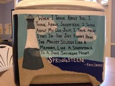 frat cooler - SO CUTE. This is totally my song of the summer Phi Mu, Kappa Delta, Alpha Phi, Cooler Connection, Coolest Cooler, Cooler Painting, Frat Coolers, Kool Kids, Eric Church