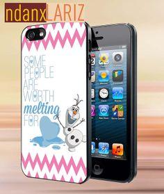 Olaf Melting quote    iPhone 4/4s/5/5s/5c Case  by NdanxlariZ, $15.00