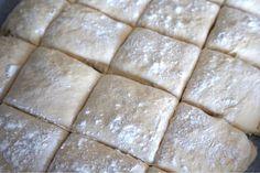 Nattjästa tekakor i långpanna - Victorias provkök Cheesecake, Dairy, Victoria, Cheese Cakes, Cheesecakes, Cherry Cheesecake Shooters