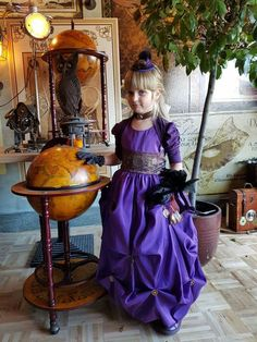 Steampunk Kids, Steampunk Clothing, Costumes Pictures, Steam Punk, Victorian, Clothes, Collection, Dresses, Fashion