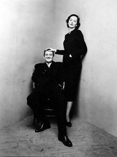 Irving Penn, Corner Portrait, Betty McLaucklen & husband, New York, 1948 for Vogue Magazine