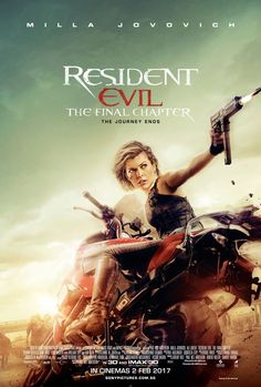 "Resident Evil: The Final Chapter 2017 Hindi Dubbed Full. Resident Evil: The Final Chapter""(Full. Streaming Hd, Streaming Movies, Hd Movies, Horror Movies, Movie Tv, Movies Online, Milla Jovovich, Ali Larter, Resident Evil 2"