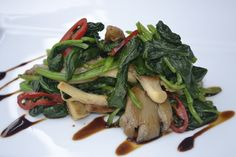 Chinese Wok Spinach Recipe from Four Seasons Doha | Taste by Four Seasons