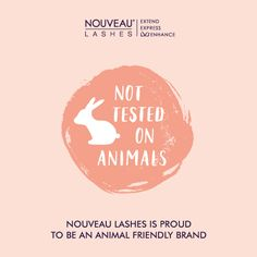 Did you know Nouveau Lashes is an animal friendly brand? #crueltyfree