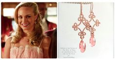 Rose Gold and Peach Crystal Earrings - As Seen on The Hart of Dixie - made with SWAROVSKI® Crystals