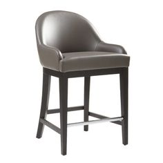 "Sunpan Modern Haven 26"" Bar Stool with Cushion & Reviews 