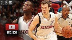 Dwyane Wade - Goran Dragic - Miami Heat