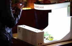 ¿¡Un estudio portátil para fotografiar comida!? Mira este vídeo: http://www.sal.pr/?p=94410