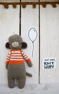 Carlitos  #amigurumi #monkey #amigurumis #crochet #handmade #Handmadewithlove #hechoamano #fetama #crochetaddict #barcelona #bcn #dwkh #dontworryknithappy