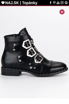 Rockové topánky na plochom podpätku Groto Gogo Biker, Shoes, Fashion, Moda, Zapatos, Shoes Outlet, Fashion Styles, Shoe, Footwear