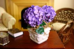Purple Hydrangea for a Dollhouse | Flickr - Photo Sharing!