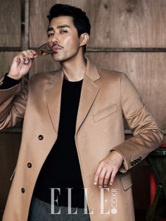 CHA SEUNG WON | YG FAMILY x SHARE HAPPINESS CAMPAIGN x ELLE MAGAZINE DECEMBER '14 ISSUE