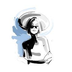 fashion illustrator #fashionillustration #art @tanyachulkova