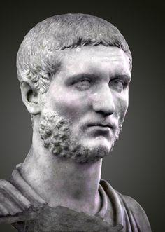 (c. 200s CE) Roman Bust of a Man