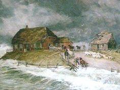 AD 838 Salt Marsh, Coast, Fantasy, Painting, Artworks, Board Games, Germany, Painting Art, Paintings