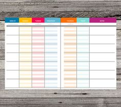 20142015 Teacher Planner PDF Printable door SimplifiedTeaching