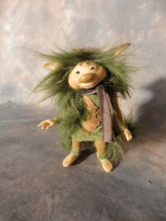 Hic  Armatured Doll Figure Handmade by Wendy Froud by WorldofFroud