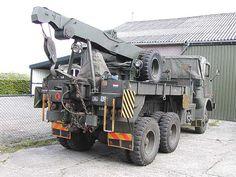DAF YB-616, Takelauto, 6 ton, 6x6, 24 V