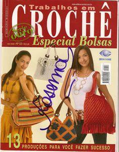 trabalhos em croche especial - Bolsas 3 - 譕淚らづ寳唄-03 - Álbuns da web do Picasa