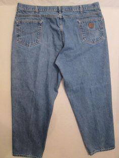 Carhartt Men's 100% Cotton Jeans  Size 44X30 Measures 44X29.5 #998 #Carhartt #BaggyLoose
