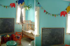 can't wait to have a chalkboard in the nursery, it's so awesome :).... I loved mine when I was young