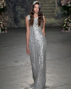 Sequin Wedding Dress by Jenny Packham | Click to view more