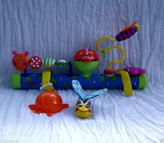 Sassy Busy Bugs Stroller Bar for Stroller - Fun` for Baby - Colorful Bugs - 6mo - #FreeShipping #$34.99