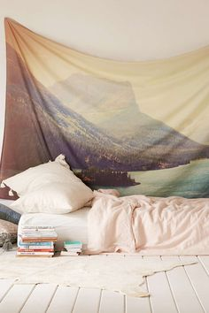 Kurt Rahn Retro Glacier Tapestry - Urban Outfitters #UOonCampus