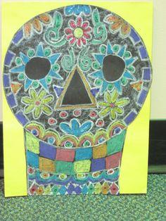 El Dia de los Muertos Calavera (skull)