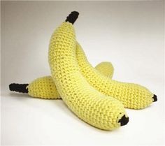 fruit basket banana-- good idea for kids'  playtime-- from Michael's craft store
