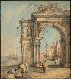 Francesco Guardi, View of Venice