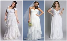 plus size wedding dress for curvy bride