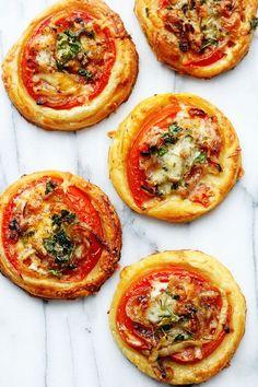 Oscar Tomato Tarts | Grandbaby Cakes