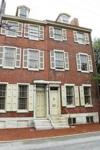 Edgar Allan Poe house in Philadelphia, PA
