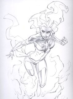 Dark Phoenix by RandyGreen on DeviantArt Comic Book Artists, Comic Artist, Comic Books Art, Comic Drawing, Drawing Sketches, Drawings, Figure Drawing Reference, Art Reference Poses, Arte Dc Comics