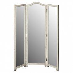Boudoir triple screen with mirrors - Trade Secret