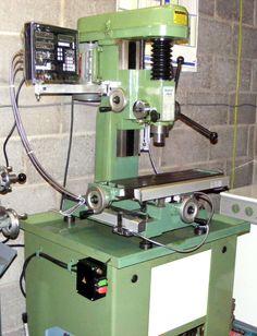 Metal Working Machines, Vertical Milling Machine, Machine Tools, Tools And Equipment, Wood Furniture, Cnc, Workshop, Woodworking, Home