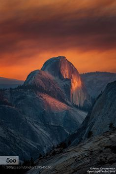 Exodus by AronCooperman  Aron Cooperman Half Dome Olmstead Point Sunset Tenaya Canyon Tioga Pass Yosemite Yosemite National P