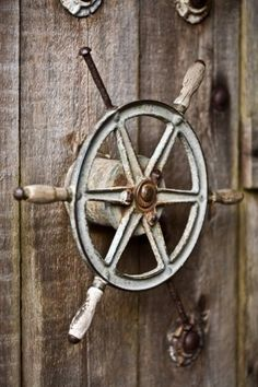 ship wheel would be great in a beach home interior