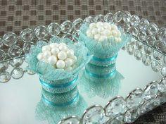 Forminha Flor : Azul Tiffany CB018-L | Mais Formosa : Atelier de Forminhas | Elo7