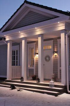 Inspiring Dreams: IHAN PIHALLA Outdoor Decor, Cabin, House Design, Entrance, House, Interior, Home, Bungalow, Inspiration