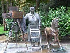 El rincón de Leodegundia: Estatuas
