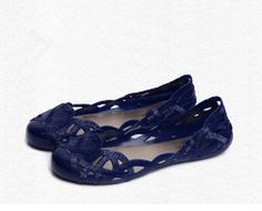 SkyleCoel Women's Pure Color Pierced Flat Sandals (Royalblue, 7.5) >>> For more information, visit image link.
